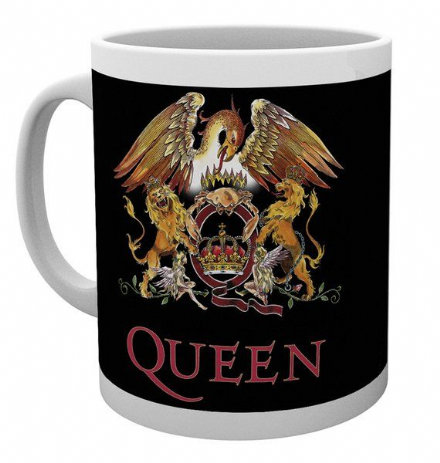 Queen Colour Crest  Ceramic Mug